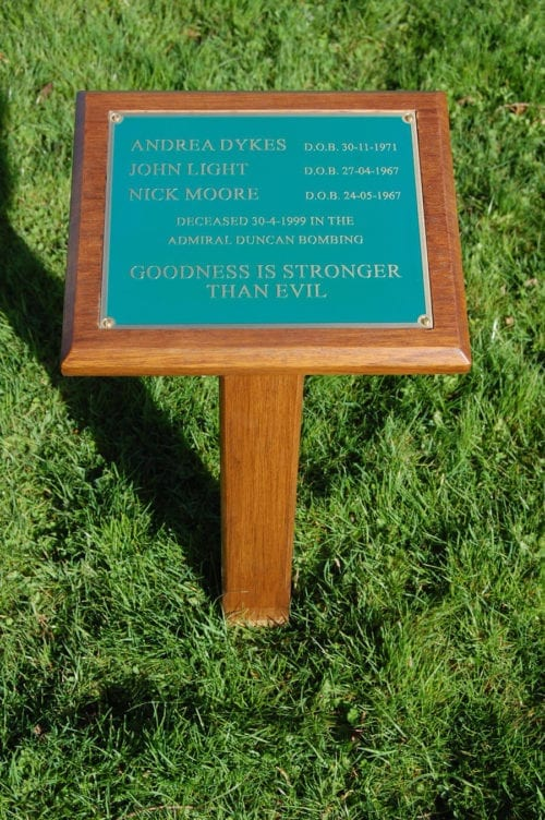 Hardwood Plaques & Stakes