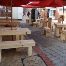 Bespoke furniture for Eatons cafe