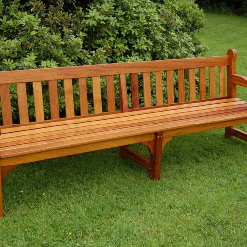 Westminster Memorial Benches with centre leg