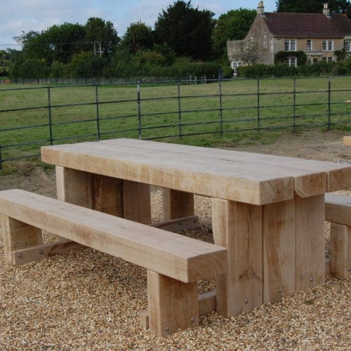 Cranham Wooden Outdoor Picnic Bench