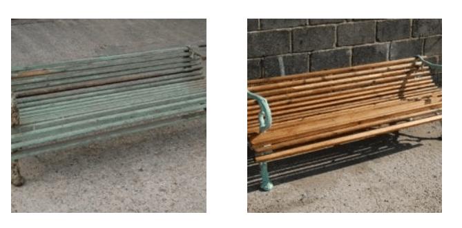 Restoration of Garden Furniture